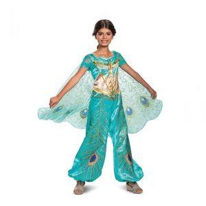 🆕 NWT Kids Jasmine Costume - Aladdin Live Action